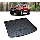 3D Moulded Heavy Duty Waterproof Cargo Rubber Mat Boot Liner Fit for Ford Everest SUV 2015-2019