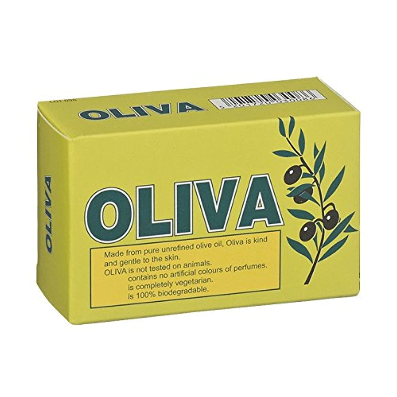 世界に死んだ漏斗カロリーOliva Pure Olive Oil Soap (Pack of 2) - オリバ純粋なオリーブオイル石鹸 (x2) [並行輸入品]