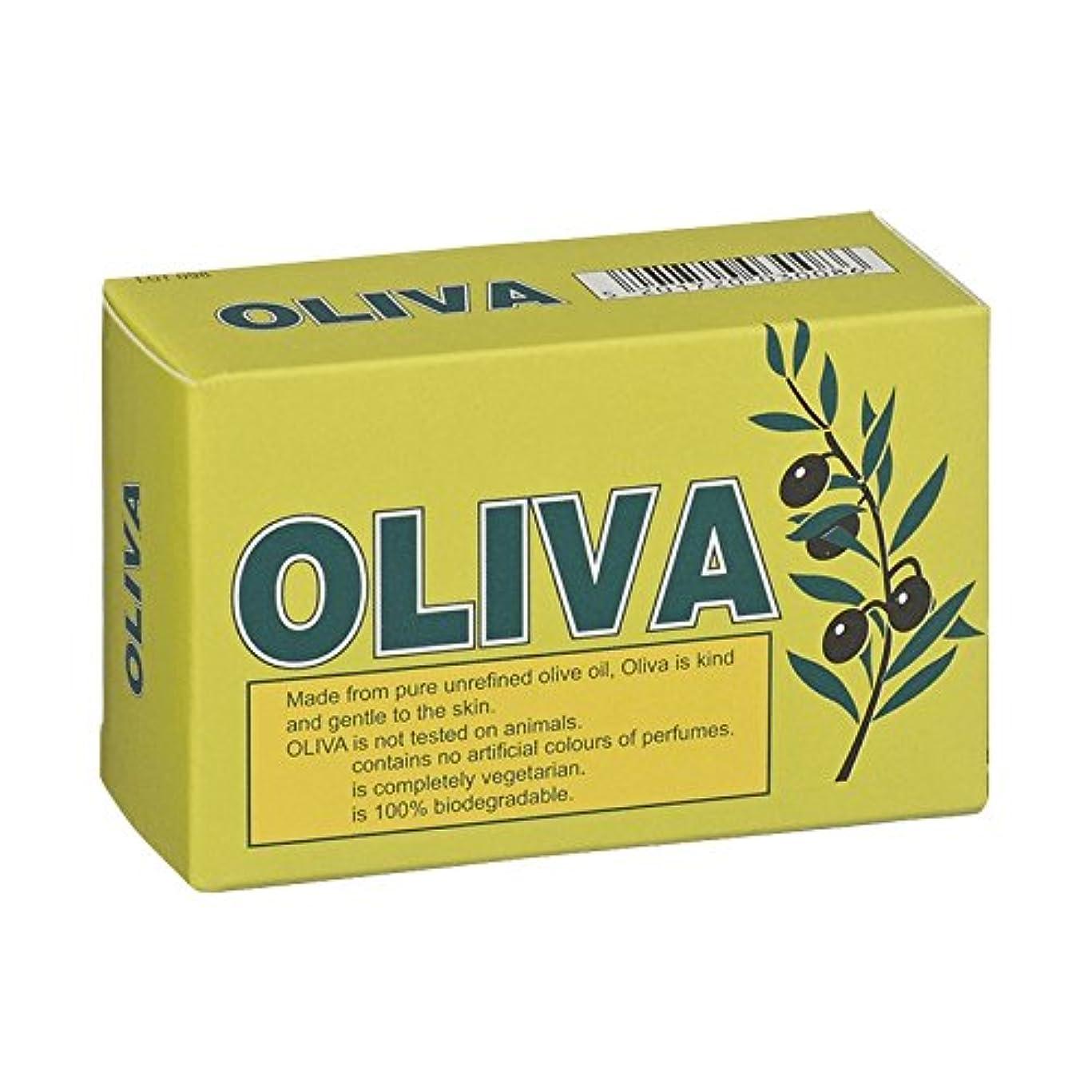 曖昧な爆発する追放するOliva Pure Olive Oil Soap (Pack of 2) - オリバ純粋なオリーブオイル石鹸 (x2) [並行輸入品]