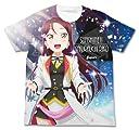 ラブライブ サンシャイン 桜内梨子 フルグラフィックTシャツ MIRAI TICKET Ver. ホワイト XLサイズ