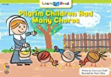 Pilgrim Children Had Many Chores (Social Studies Learn to Read)