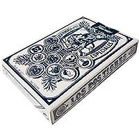 デッキの50Fournierスペイン語Playing Cards Cadiz面# 5Los Dos Tigres Tuckケース–Baraja Española Gaditana ブルー