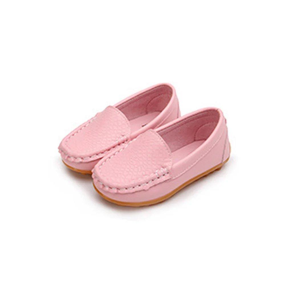 45de30306d94f カイヤス カイヤス 子どもシューズ キッズシューズ 男女兼用 ローファー 子供靴 PUレザー デッキシューズ モカシン