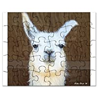 CafePress - Llama - Jigsaw Puzzle, 30 pcs.