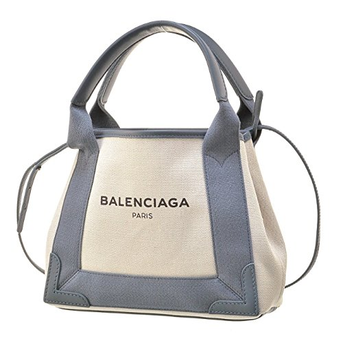 BALENCIAGA(バレンシアガ) NAVY CABAS XS ネイビーカバス 2WAYハンドバッグ 390346 AQ38N 1381 [並行輸入品]