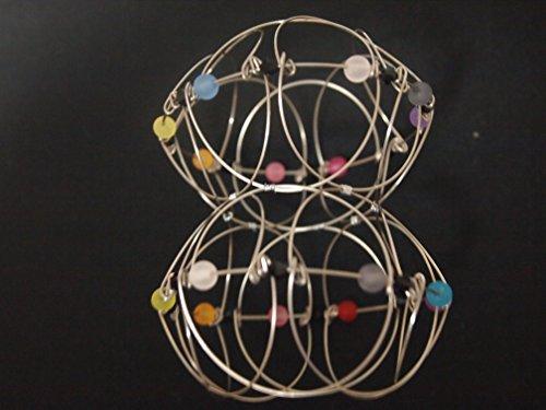 インドの毬(インドのまり) 曼荼羅玩具 ステンレス製 全て手作り