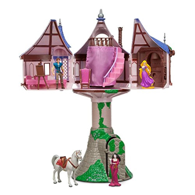 ディズニー プリンセス 塔の上のラプンツェル ラプンツェル キャッスル プレイセット 女の子 キッズ 子供 おもちゃ ままごと ドール 人形 フィギュア