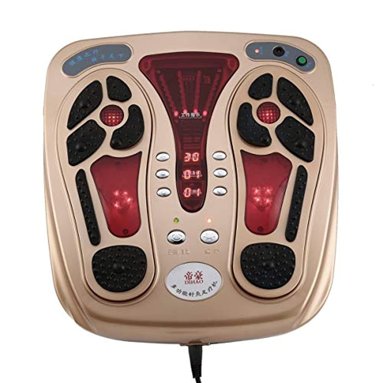 エールメタンもちろんMultifunctional Body Health Care Foot Massaging Device Electromagnetic Infrared Wave Pulse Foot Massager Circulation...