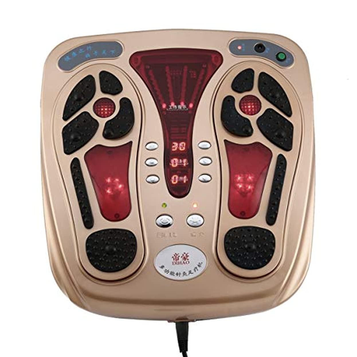 賃金ドライブ入口Multifunctional Body Health Care Foot Massaging Device Electromagnetic Infrared Wave Pulse Foot Massager Circulation...