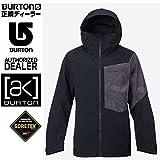 BURTON(バートン) バートン 2017 ウェア ジャケット AK 2L BOOM -jk TRUE BLACK HOMBRE CAMO ゴアテックス BURTON GORETEX(スノーボードウェア・ウエア・スノボー用品) XS