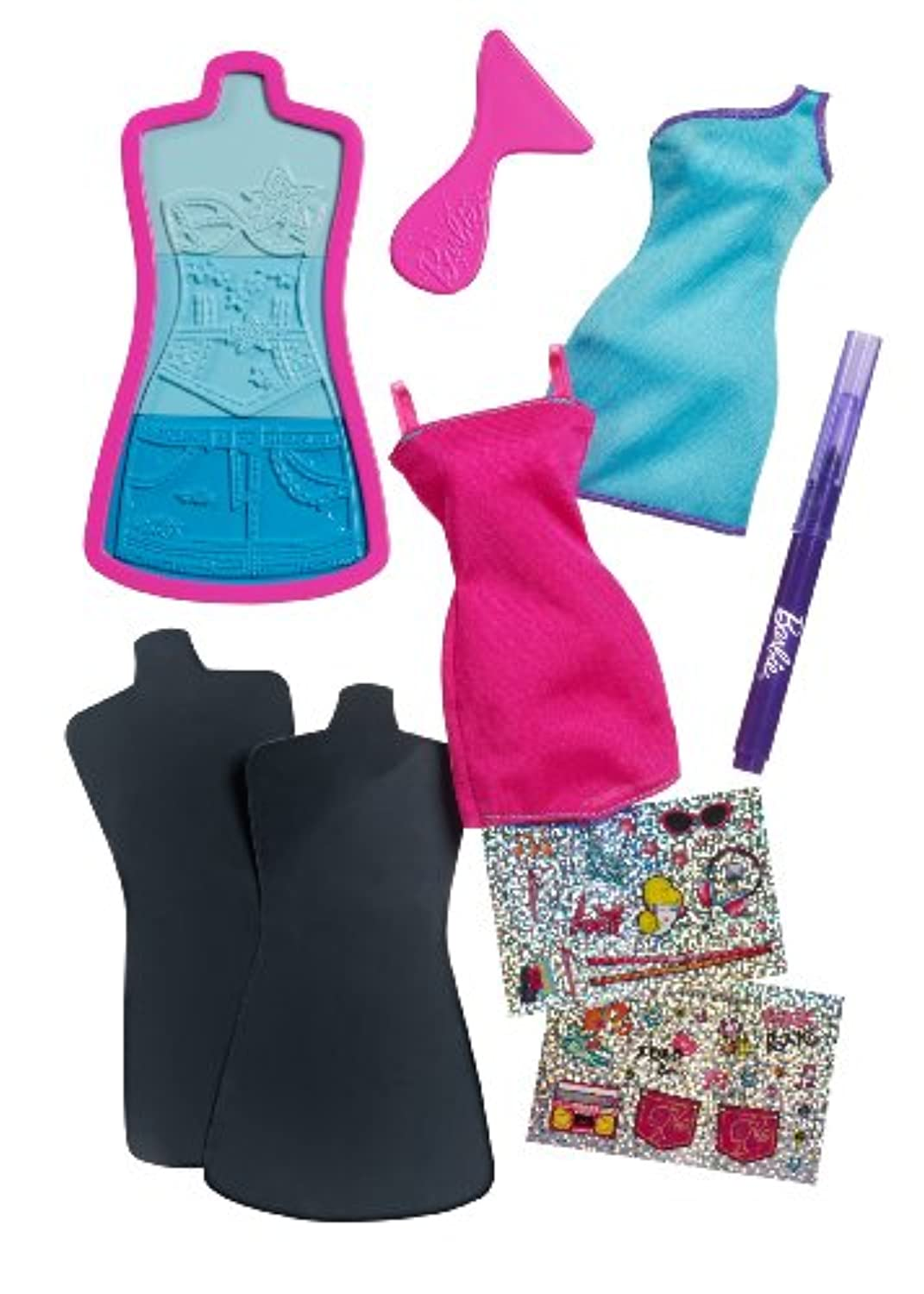 Barbie Fashion Design Plates Sassy Extension Pack by Barbie