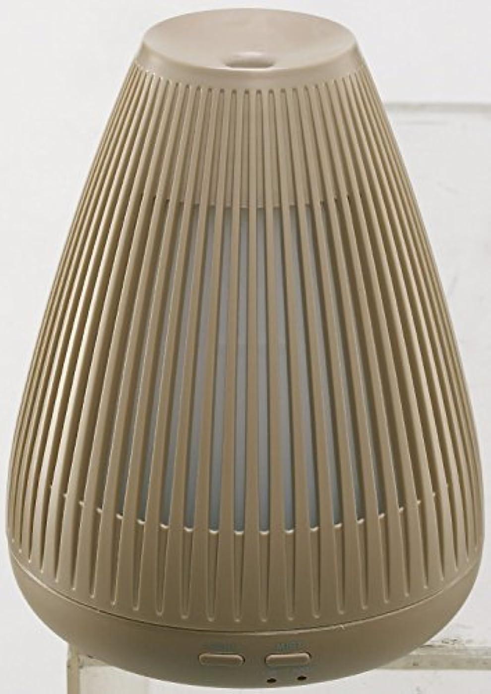 抗生物質憲法金額ムード 超音波アロマディフューザー ライトブラウン MOD-AM1102 LBR
