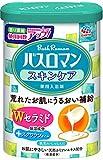 【医薬部外品】 アース製薬 バスロマン 入浴剤 スキンケア Wセラミド 600g