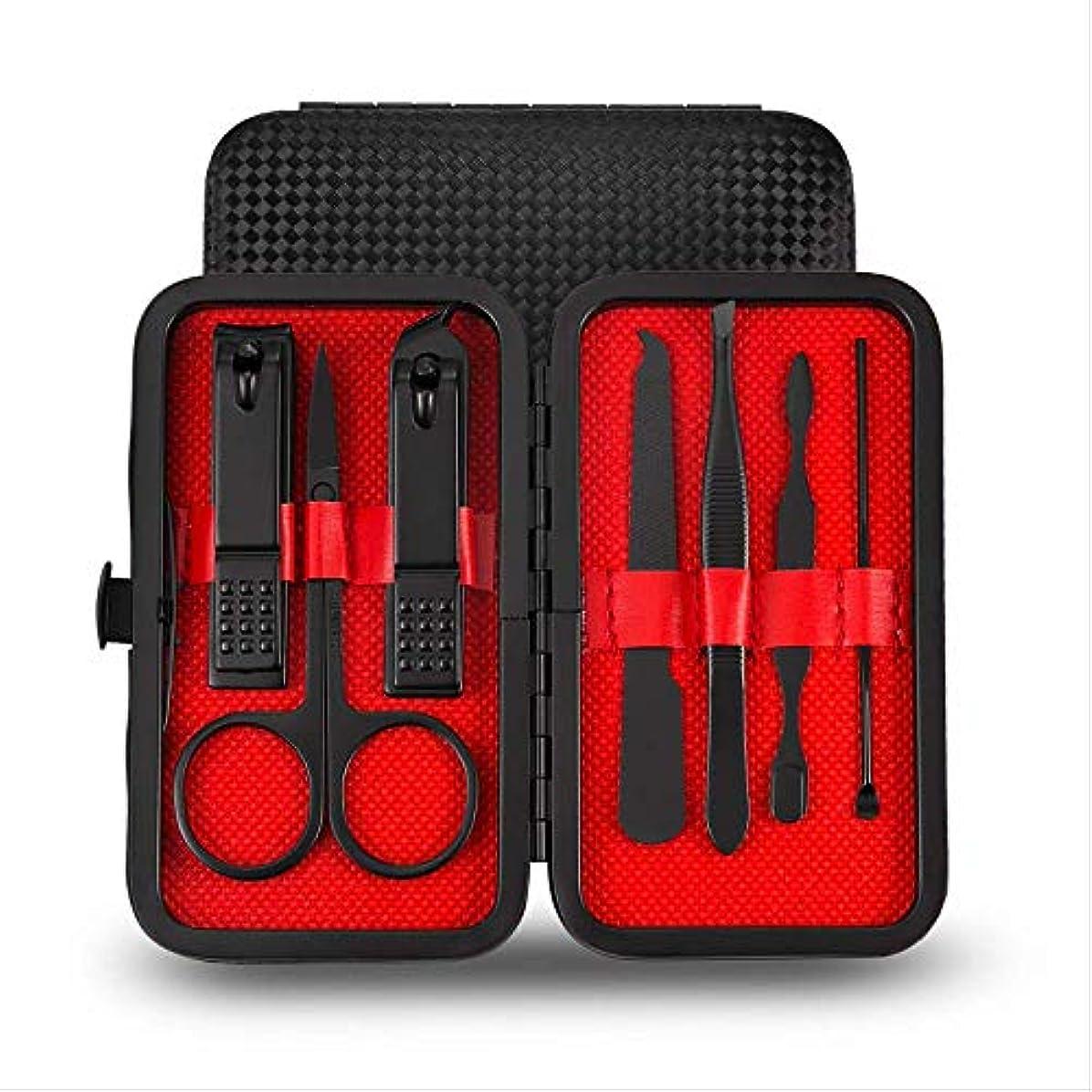 活力デモンストレーション無声で爪切りセット16ピースペディキュアナイフ美容プライヤー爪ツール 7197F
