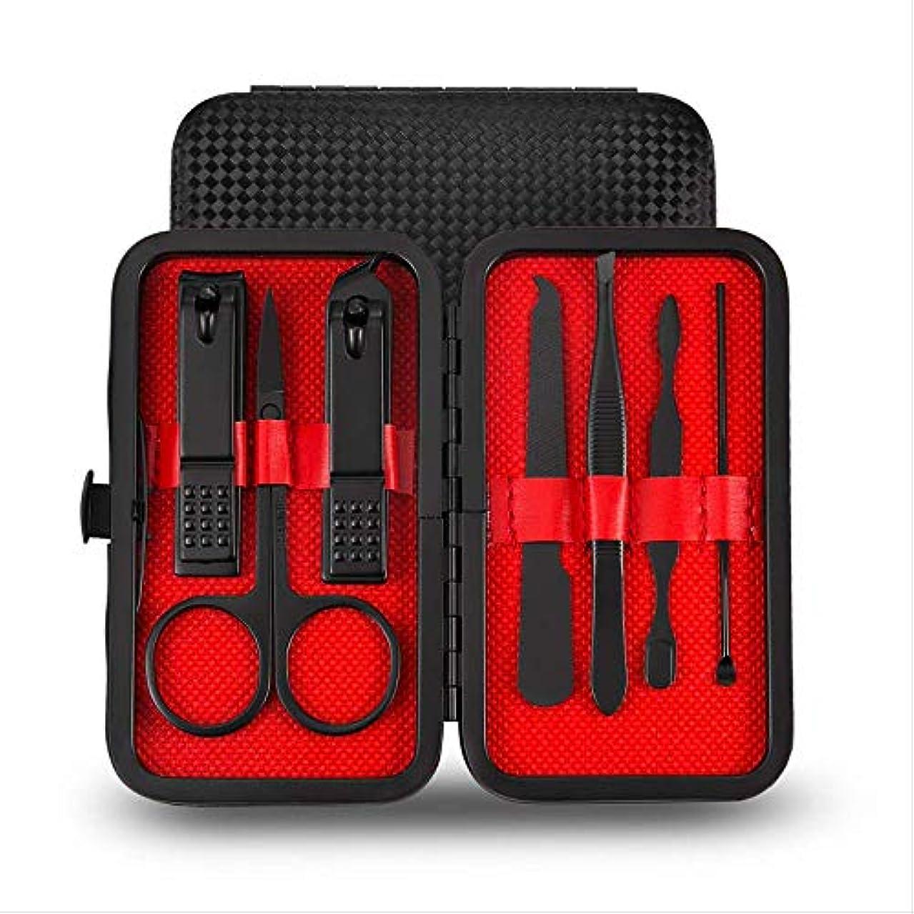 分布かりて解放する爪切りセット16ピースペディキュアナイフ美容プライヤー爪ツール 7197F