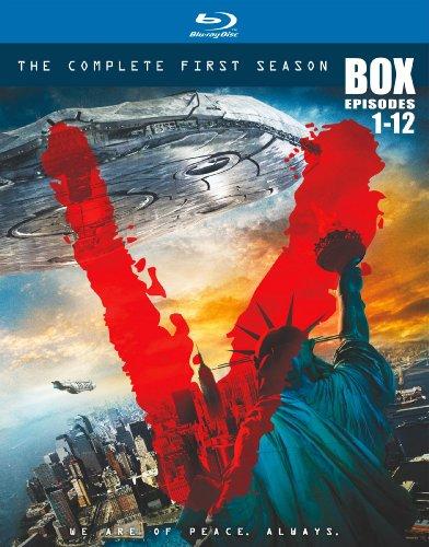 V [ビジター] 〈ファースト・シーズン〉コンプリート・ボックス [Blu-ray]の詳細を見る