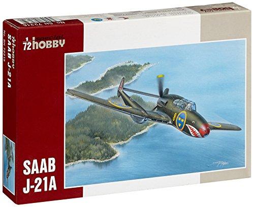 1/72 サーブ J−21A レシプロ戦闘機