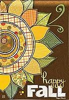 Breeze Art Happy Fall Garden Flag #31198 [並行輸入品]