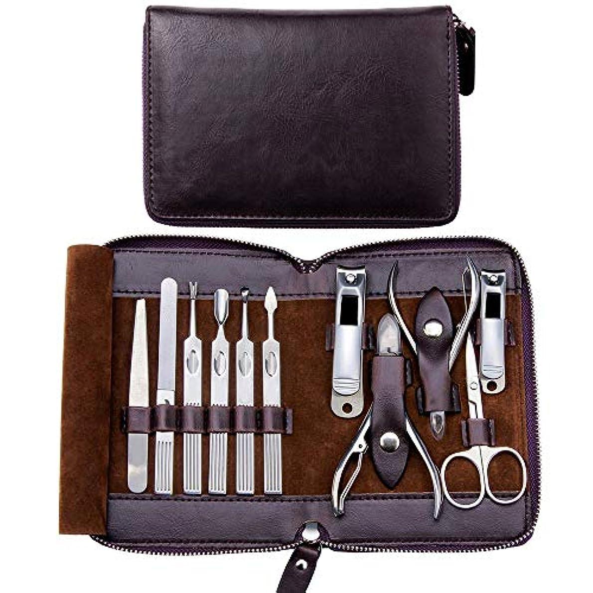 扱いやすい一般的な品爪切りセット ニッパー式 マニキュアセット ステンレス