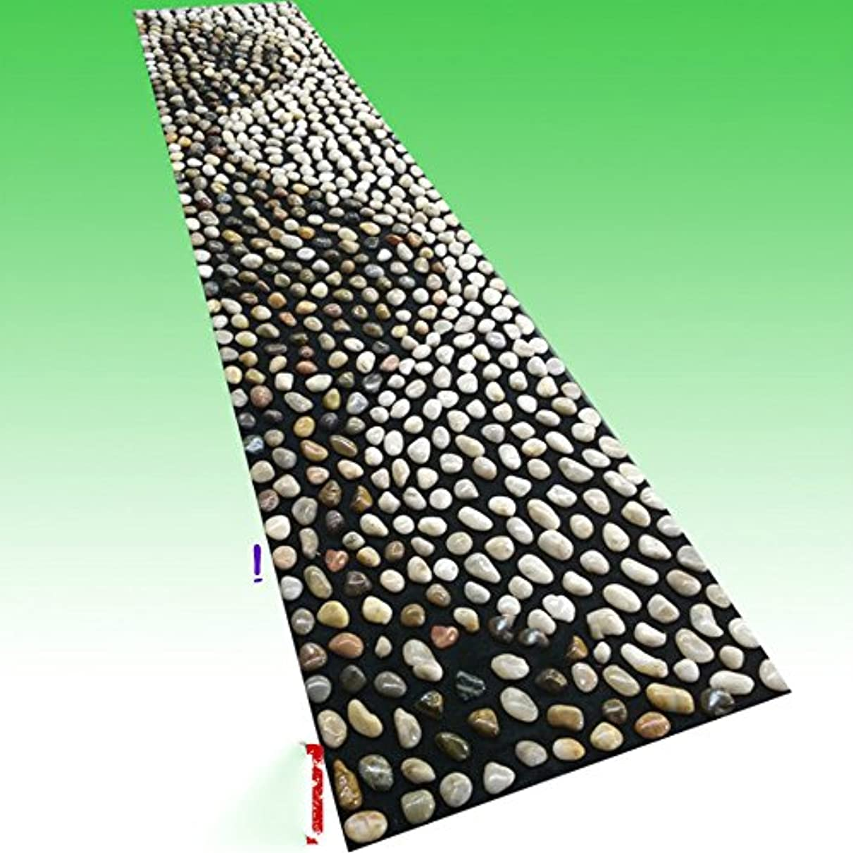 燃料簡潔なアルカトラズ島足つぼ マット マッサージシート マッサージ 足裏 健康 ツボ刺激 折りたたみ ウォーキングマット 足裏マット 本物の健康 フットマッサージ 足のマッサージパッド 模造石畳の歩道