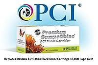 プレミアム互換機Inc。41963604-pci交換用インクとOkidataプリンタ用トナーカートリッジ、ブラック
