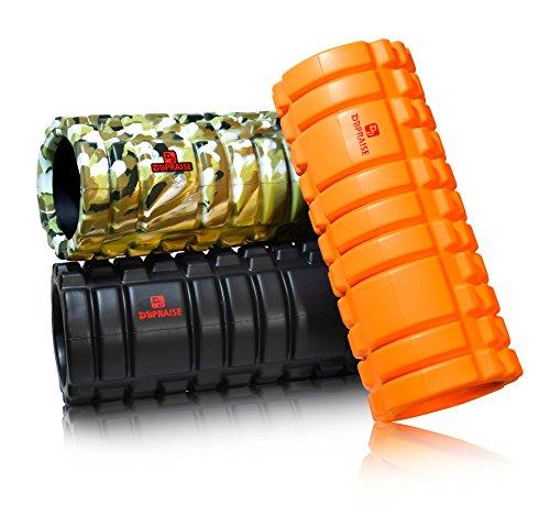 DB Praise フォームローラー Foam Roller 特典:写真付きマニュアル 7色 健康器具 ローラー 効果的なスポーツトレーニング (G Red)