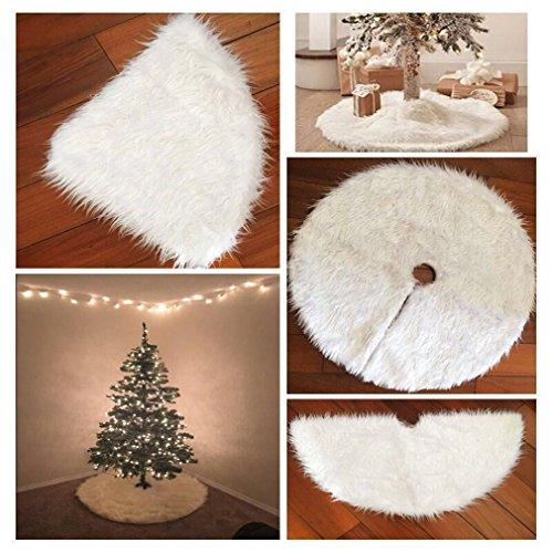 PINKING クリスマスツリースカート 立体飾り 下敷物 下周り クリスマスパーティー オーナメン...