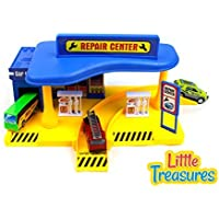 Metropolis Repair Center and gas station Play-set toy for kids [並行輸入品]