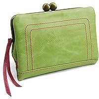 [パッカパッカ] pacca pacca 日本製 馬革 レディース がま口 二つ折り財布 袋縫いタイプ