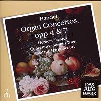 ORGAN CONCERTOS OP.4 & 7