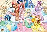 ジグソーパズル 500ラージピース キラキラ☆プリキュアアラモード 星空のパジャマ☆パーティ 51x73.5cm 500T-L16