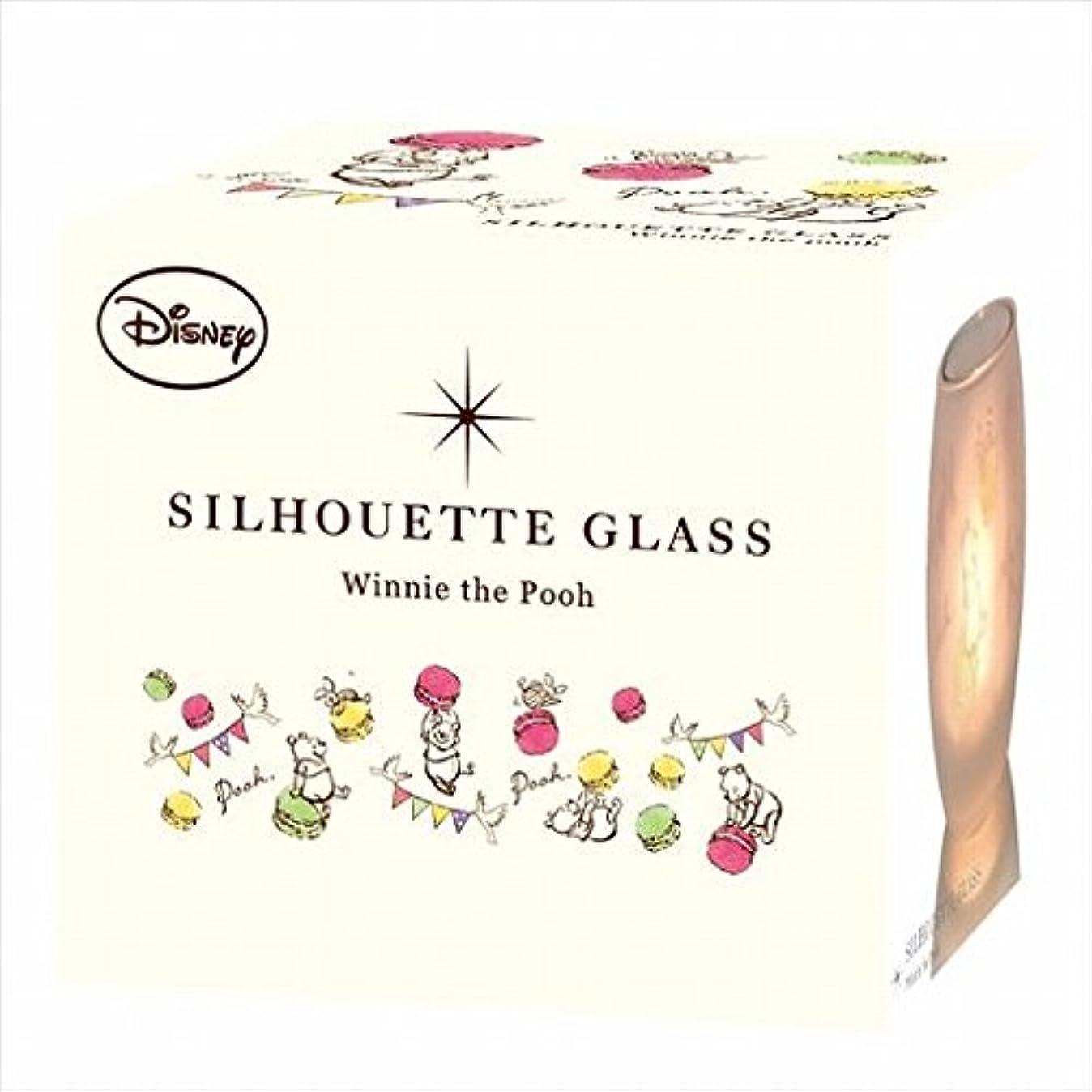 ステープル植物学クロスディズニー(Disney) ディズニーシルエットグラス 「 プー 」