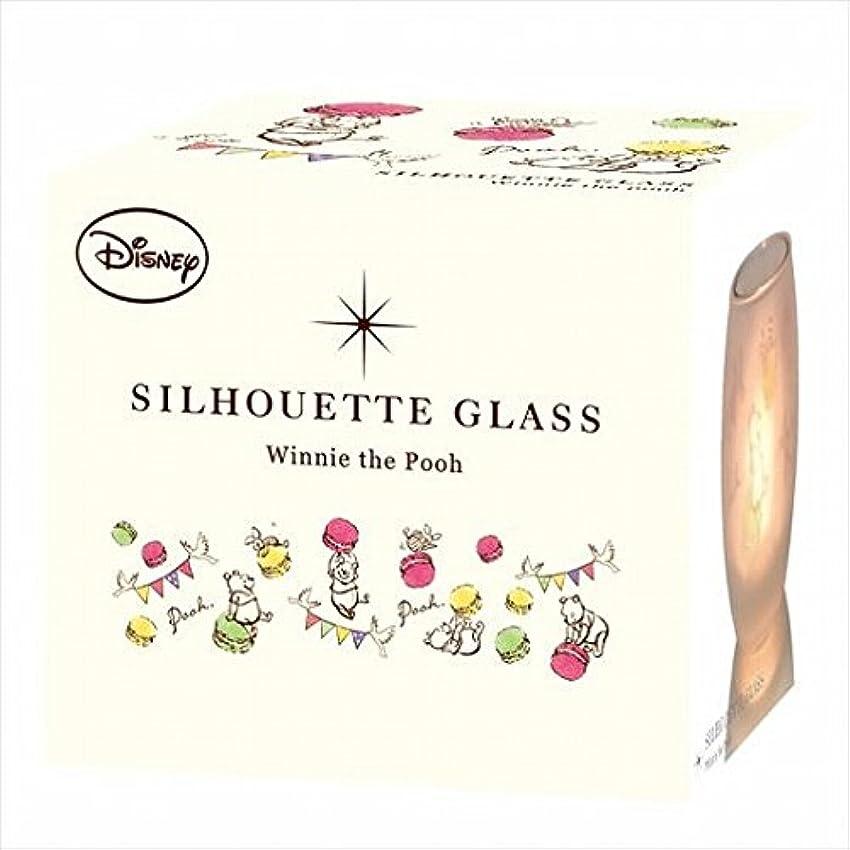 普通に古いアナログディズニー(Disney) ディズニーシルエットグラス 「 プー 」