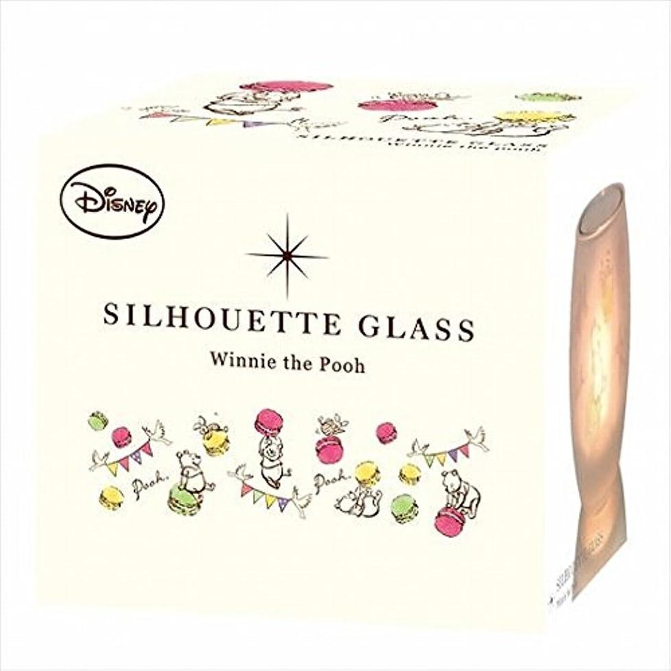 パリティカルシウムエスカレーターディズニー(Disney) ディズニーシルエットグラス 「 プー 」