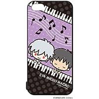 河島製作所 サンリオ iPhone5s / 5 キャラクター スマートフォン シェル ハード ケース / エヴァ ミクロマクロ ( EV1007 カヲル&シンジ ピアノ)