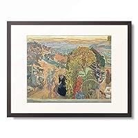 ピエール・ボナール Pierre Bonnard 「Im Sommer. Um 1912.」 額装アート作品