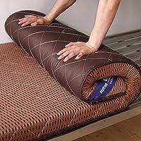 厚く 布団 畳床のマットレス マット,床マットを敷く,式 スリーピングマットレスパッドクッション,じゃない-スリップ スリーピングピローマット-d 1.5m*1.9m