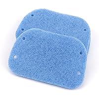 スカーリングパッドの交換PPロングハンドルスカルティングパッドブラシ クリーニングパッド10PCS 青