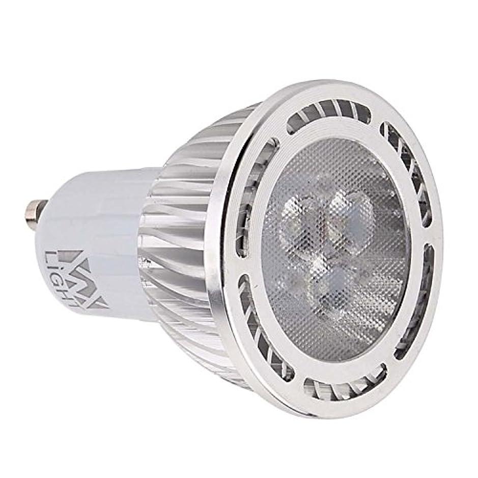 あそこオープニング先見の明GU10 3W SMD 3030 200-300 LMウォームホワイト/クールホワイトフロストステッドLEDスポットライトAC 85-265V AC 220-240V AC 110-130V(1個) (色 : AC 220-240V, サイズ : 暖かい白)