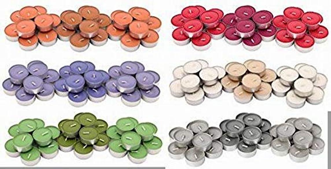 書誌余韻香港IKEA SINNLIG 香り付ティーライト 30ピース × 6種類(レッドガーデンベリー、ピーチ&オレンジ、スイートバニラ、リンゴ&洋ナシ、ブラックベリー、ナツメグ&バニラ)