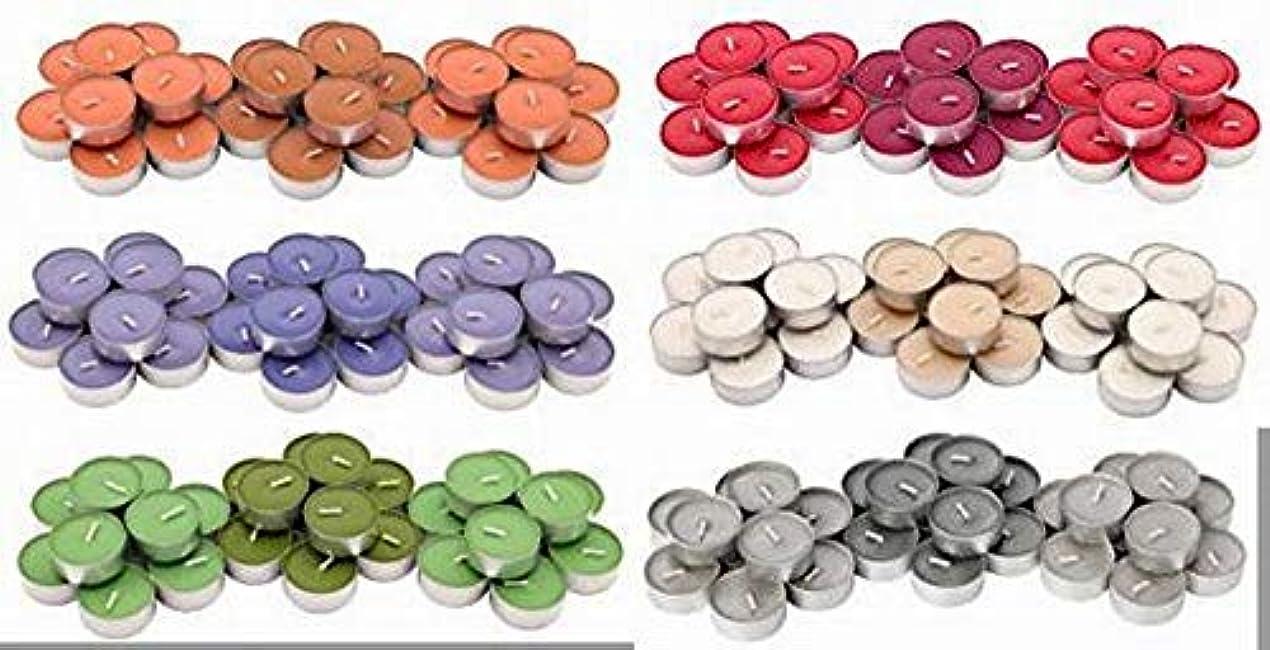 経験者等しい高架IKEA SINNLIG 香り付ティーライト 30ピース × 6種類(レッドガーデンベリー、ピーチ&オレンジ、スイートバニラ、リンゴ&洋ナシ、ブラックベリー、ナツメグ&バニラ)