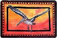 Caroline's Treasures Bird - Pelican Mouse Pad/Hot Pad/Trivet (8095MP) [並行輸入品]