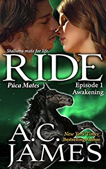 Ride: BBW Paranormal Shape Shifter Romance (Puca Mates Book One) by [James, A.C.]