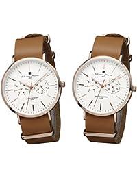 [サルバトーレマーラ]Salvatore Marra 腕時計 SM15117 ペアBOX付き PGWHPG-PGWHPG ペアウォッチ メンズ レディース