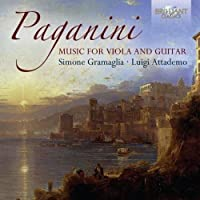 Paganini: Music for Guitar and Viola by Luigi Attademo (2014-12-19)
