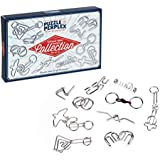 Professor Puzzle and Perplex Ultimate Metal Puzzle Collection Brain Teaser