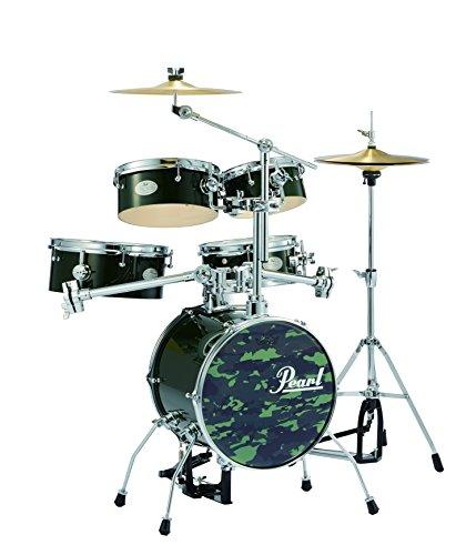 Pearl パール ドラム リズムトラベラー Version 3S   Alpine Green  RT-645N/C  93