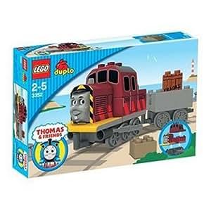 レゴ (LEGO) デュプロ 造船所のディーゼル機関車ソルティ 3352