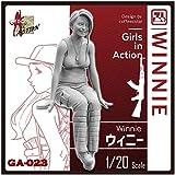 ジルプラ 1/20 ガールズインアクションシリーズ ウィニー レジンキット GA-023