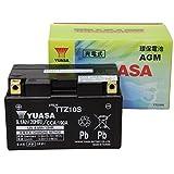 【Amazon.co.jp限定】 TAIWAN YUASA 【台湾ユアサ】正規品 AGM-バイク用バッテリー クロス付 TTZ10S